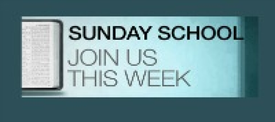 Sunday School (All Ages)