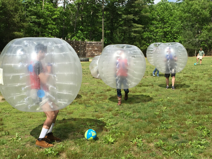 Youth Bubble Race
